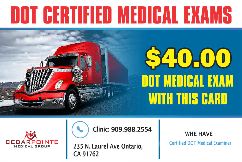 [object object] Home DOT certified medical exams